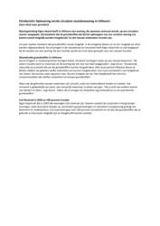 20190116 Persbericht Stichting Eigen Haard Oplevering eerste circulaire mutatiewoning in Uithoorn