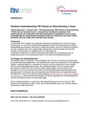 PB 2019.01.17 Positieve fusieverkenning TBV Wonen en Woonstichting 't Heem