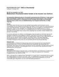 Persbericht Medewerkersdag Woonbedrijf op Zonhove