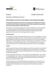 Persbericht Noordwijkse sociale huurwoningen levensloopbestendiger