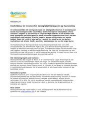 Persbericht Inschrijfduur en inkomen het belangrijkst bij reageren op huurwoning (Qua Wonen, Bergambacht) oktober 2017