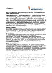Persbericht over renovatieprojectUniek renovatieproject Soendalaan Vlaardingen, 16 oktober 2017