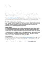 Persbericht Eigen Haard over oplevering laatste woningen van flat Najade, 18 januari 2019