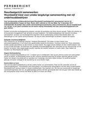 Persbericht 2017.12.14 Woonbedrijf kiest voor unieke langdurige samenwerking met vijf onderhoudsbedrijven