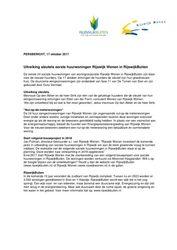Persbericht Uitreiking sleutels woningen Rijswijk Wonen in RijswijkBuiten (Rijswijk Wonen, Rijswijk) oktober 2017