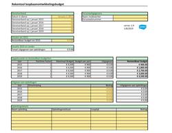 Rekentool loopbaanontwikkelingsbudget 2019