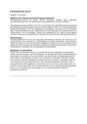 2018.05.14 Persbericht DGWN en elk tekenen samenwerkingsovereenkomst