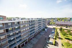 AM201902 uitzicht op flat Alkmaar