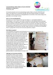 Verslag Werkatelier 2 Innovatiechallenge leefbare wijken en buurten 2018 2019 Team 5 - december 2018