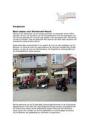Persbericht WormerWonen over opening woontoren De Amandelbloesem, mei 2018