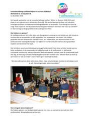 Verslag Werkatelier 2 Innovatiechallenge leefbare wijken en buurten 2018 2019 Team 4 - december 2018