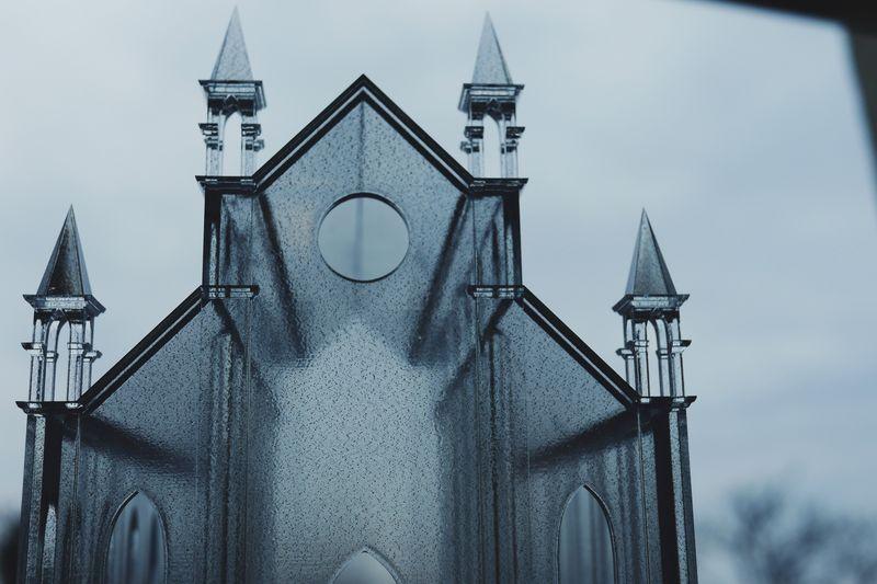 Model of the Šibenik Cathedral (Croatia). Transparent Resin.