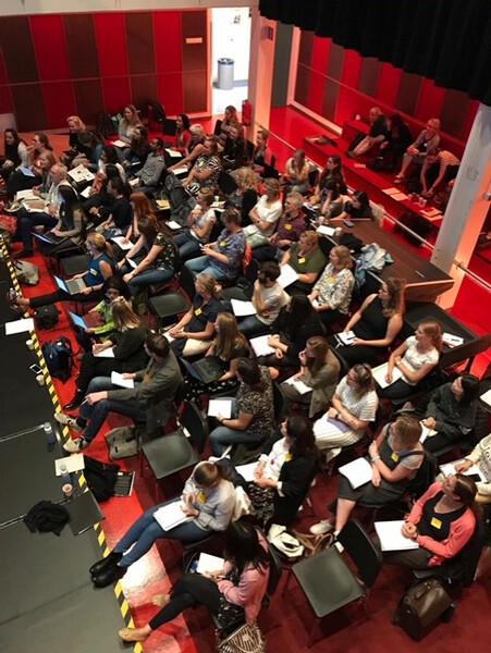 Master of Music Therapy (MMT) studenten zaal
