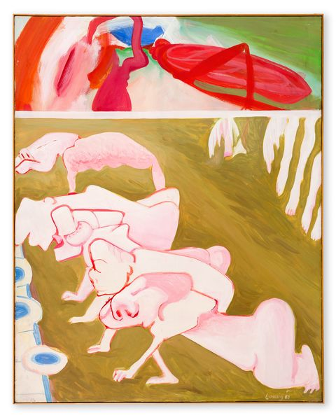 Artwork related to exhibition: Maria Lassnig A Painting Survey, 1950 – 2007