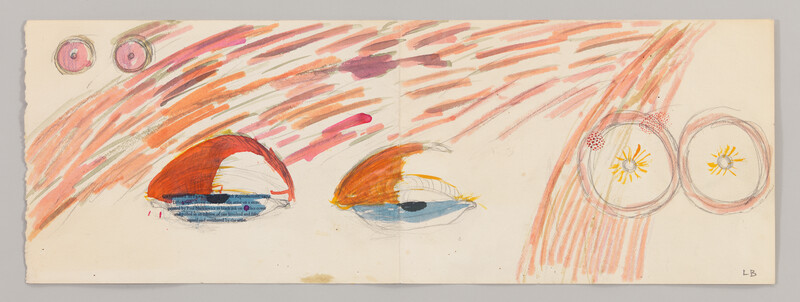 Artwork related to exhibition: Louise Bourgeois Drawings 1947 – 2007