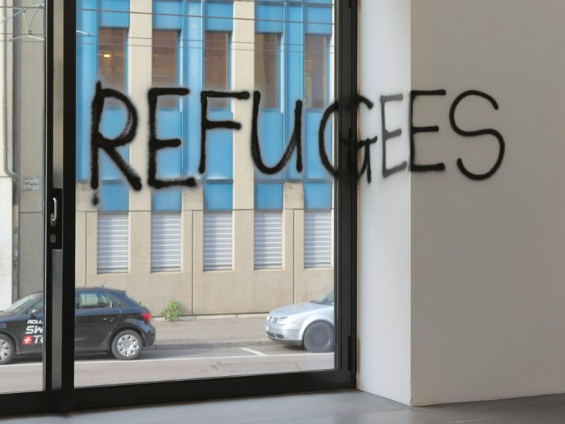 Work No. 2489 REFUGEES