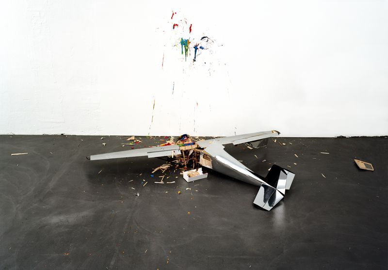 Artwork related to exhibition: Richard Jackson  Accidents in Abstract Painting