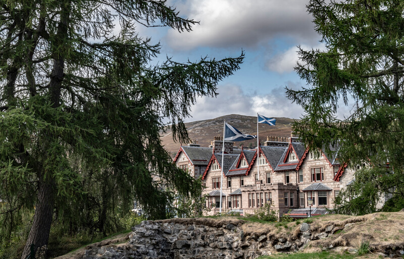The Fife Arms, Braemar - Hotel exterior, photo credit Sim Canetty-Clarke