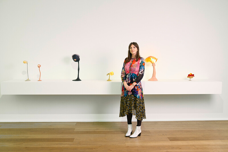 Katy Hessel gallery space portraits - 29