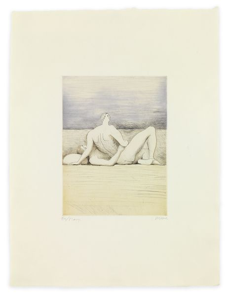 MOORE78900 Reclining Figures Man and Woman II