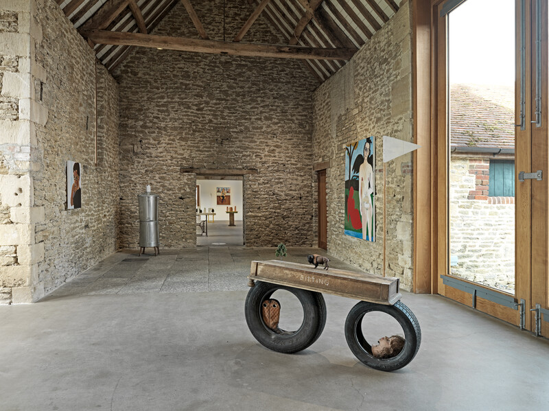 4.Henry Taylor, Hauser & Wirth Somerset, 2021