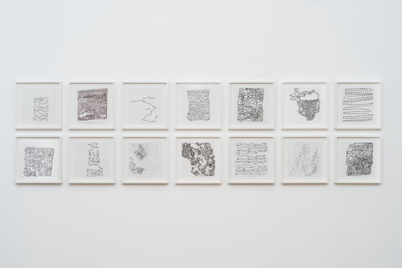 Artists anna maria maiolino hauser wirth maiol61152 untitled from contnuos ii continuous series no 23 fandeluxe Image collections