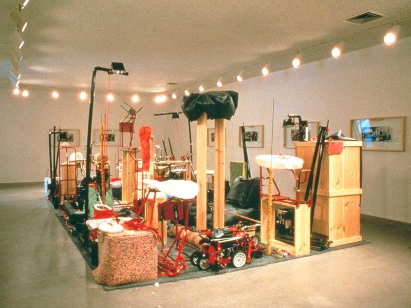 Artwork related to exhibition: Jason Rhoades  Installations, 1994 – 2006