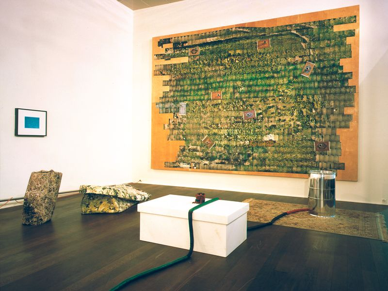 Artwork related to exhibition: Jason Rhoades  Flatworks from a Perfect World