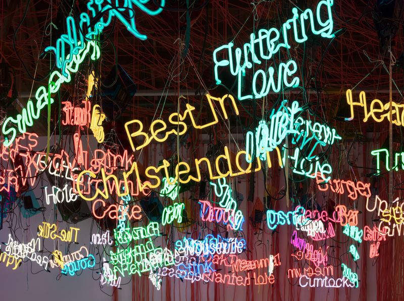 Artwork related to exhibition: Jason Rhoades  My Madinah. In pursuit of my ermitage...