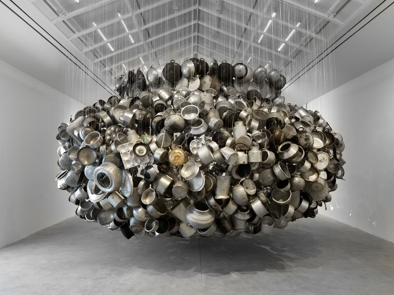 Artwork related to exhibition: Subodh Gupta  Invisible Reality