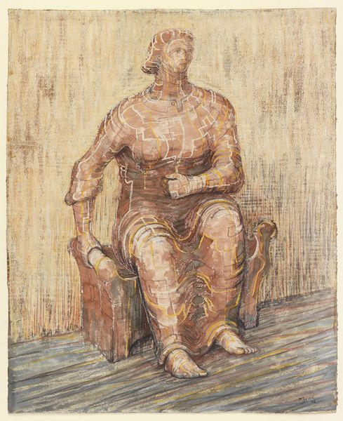 MOORE43570 Seated Woman