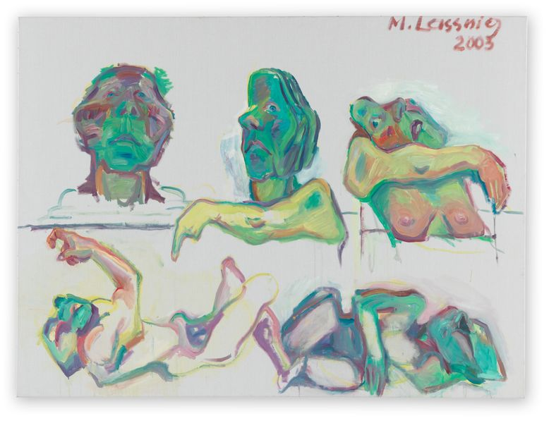 Artwork related to exhibition: Maria Lassnig Paintings