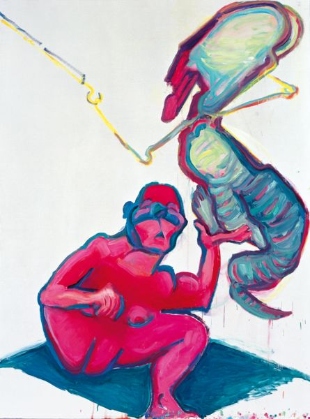 Artwork related to exhibition: Maria Lassnig