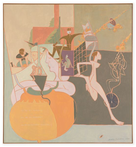 Artwork related to exhibition: André Thomkins  Works 1946 – 1985