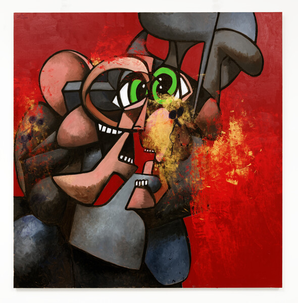 Artwork related to exhibition: George Condo Internal Riot