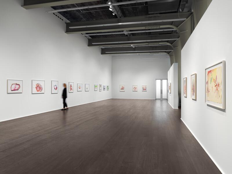 003_Lassnig Installation view Hauser & Wirth, Zurich 2019
