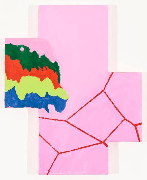 Artwork related to exhibition: Mary Heilmann  Visions, Waves and Roads