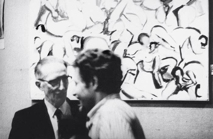 Jean-Jacques Lebel and Marcel Duchamp