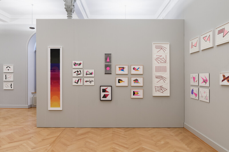 24_Geta Brătescu_Installationsansicht_KunstmuseumStGallen_Foto_Sebastian_Stadler