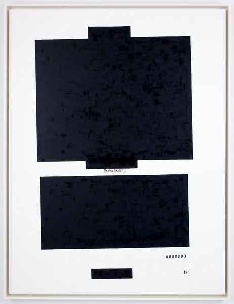 HOLZE70249 Water board black white