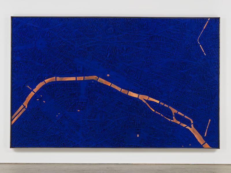 Artwork related to exhibition: Matthew Day Jackson Something Ancient, Something New, Something Stolen, Something Blue