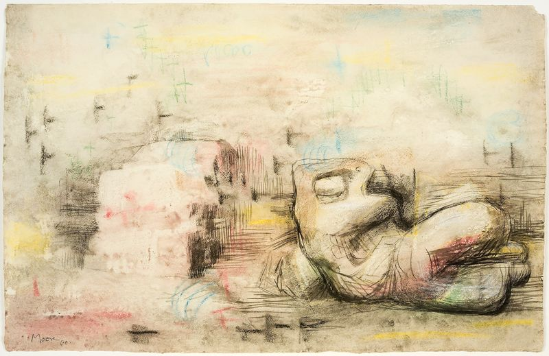 artists henry moore hauser wirth