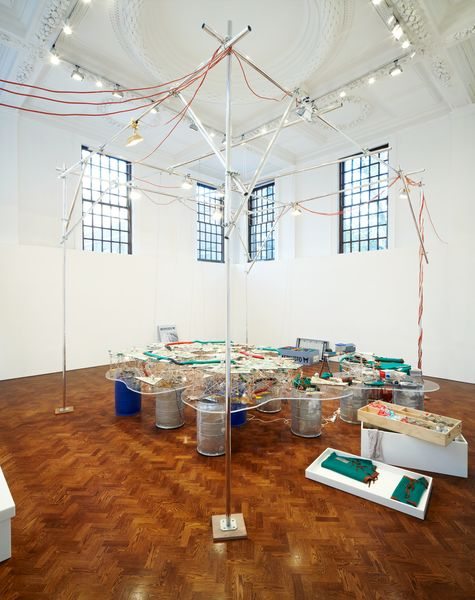 Artwork related to exhibition: Jason Rhoades  1:12 Perfect World