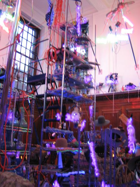 Artwork related to exhibition: Jason Rhoades  The Black Pussy… and the Pagan Idol Workshop