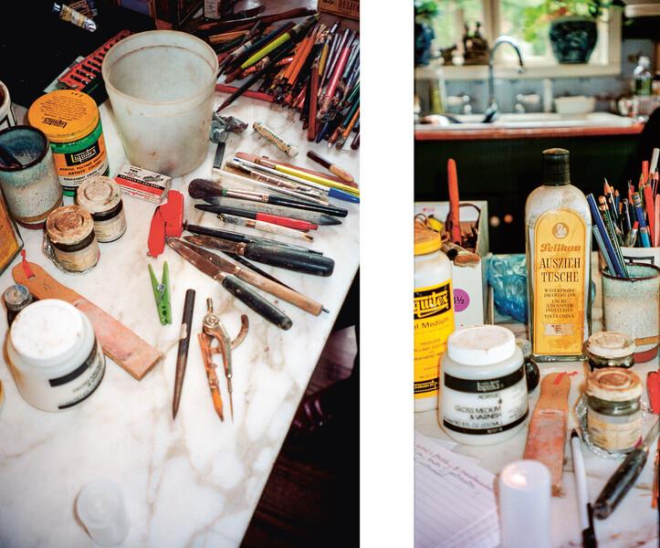 Eva Hesse Combined image studio