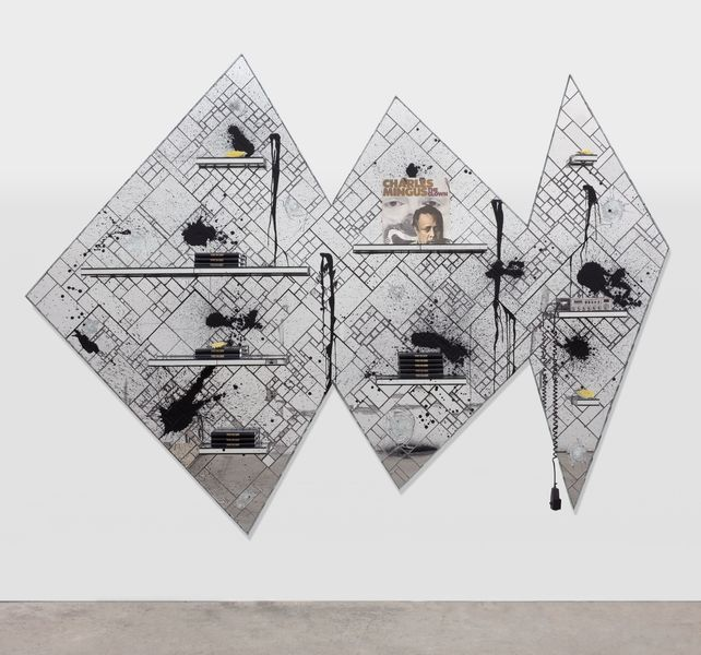 Artwork related to exhibition: Rashid Johnson RUMBLE