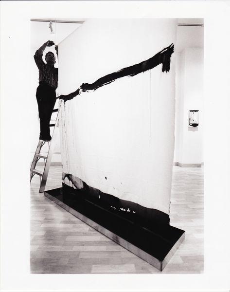 Matsutani, Curtain 1, Gallery Don Soker, 1999