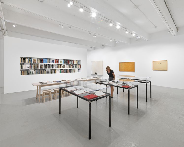 HWP Book Lab Hauser & Wirth New York, 22nd Street-hires