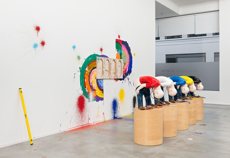 Artwork related to exhibition: Richard Jackson  New Paintings