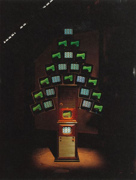 Nam June Paik. Jardin Illuminé
